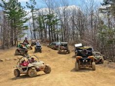 RUSH OFF-ROAD is a new park in Northern, Kentucky, but it is already popular with riders thanks to its challenging terrain and clean, well maintained trails.