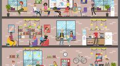 Espaces de travail : à quoi rêvent les millenials ? | Le Blog Offiscénie Baby Foot, Blog, Ergonomic Chair, Coffeemaker, Spaces, Desk, Life, Baby Feet