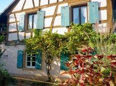 Maison à colombages à Niederbronn-les-Bains. // Half-timbered house in Niederbronn-les-Bains. #NiederbronnLesBains #Alsace #BasRhin