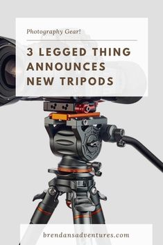 New tripod series from 3 Legged Thing.