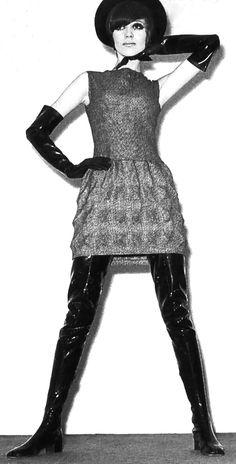 1960's fashion - Pierre Cardin