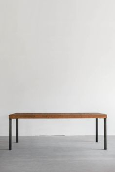 Materials: Reclaimed Pine, Sustainably Grown Hardwoods, Industrial Steel Process: This Dining Table is Custom Made in Los Angeles.