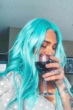 ARCTIC FOX HAIR COLOR @thrashhappy loaded w blues balanced by u #afaquamarine #afarcticmist #bluehair #hair #blueaesthetic #aesthetic #dyedhair #hairgoals #hairdye #haircolor #inspo #hairinspo #quarantinelooks #quarantinehair #arcticfoxhaircolor
