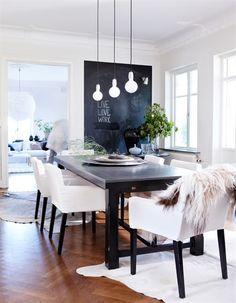 dining-area-say-it-loud-6256.jpg (505×650) #interiors #monochrome