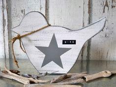 Deko-Objekte - Holzvogel *XL* - ein Designerstück von pabst96 bei DaWanda