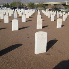 National Cemetery at Ft. Bliss
