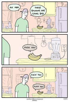 Bad bananas - Extra Fabulous Comics