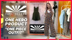 One Piece Outfit, Fashion Videos, Hero, Outfits, Suits, Kleding, Outfit, Outfit Posts, Clothes
