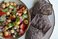 Recipe and Photo Courtesy of My Fancy Pantry This recipe can easily be halved or even doubled. Ingredients  2 cans garbanzo beans  1 medium red onion, finely diced  1 medium cucumber, diced  2 large roma tomatoes, diced  2 jalapenos, diced (remove the membranes and seeds for a milder dish)  Zest …