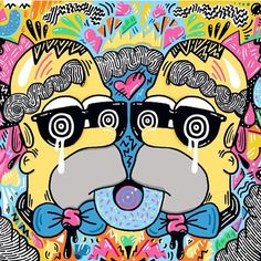 Woah, cool #doodle  Follow the artist: ✏️ @miss_wearer  #artbotic #art #artist #homer #simpsons