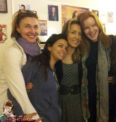 Desperate Housewives: Marcia Cross, Felicity Huffman, Eva Longoria, and Brenda Strong