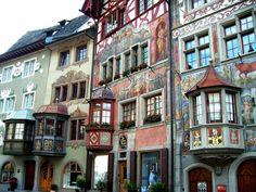Fotografía: Carmen Annunciato - Stein am Rhein Past, Madrid, Vacation, Lake Garda, Fotografia, Travel, Places, Vacations, Holidays Music