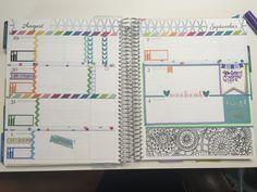 Erin Condren Life Planner ECLP Horizontal Weekly layout