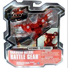Bakugan Deluxe Electronic Battle Gear Pyrus JetKor [Red]
