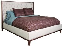 Vanguard Bedroom Barrett King Bed. No tufting