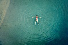 How long has it been since I've free floated in a natural body of water? Too long.