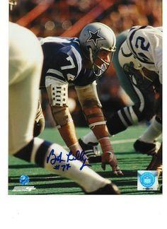 689e6e7a2 Autographed Bob Lilly Dallas Cowboys 8x10 Photo