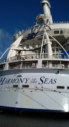 April 6 2016 - Ultimate Abyss launch platform installed above deck 16 on the Harmony of the Seas.
