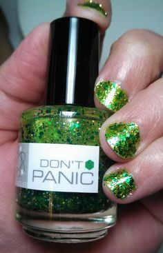 Nerd Lacquer - Don't Panic