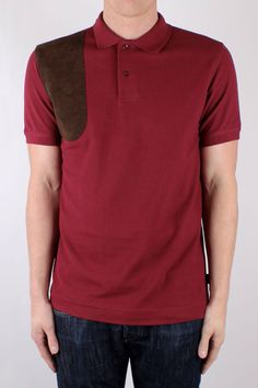 Barbour Cumberland Polo Bordeaux