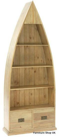 Besp-Oak Coast Eco-Friendly 4 Shelf Scotland Boat