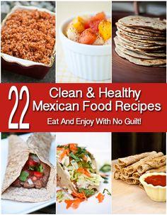 Healthy Mexican Food!!