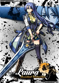 Laura S. Arseid is from The Legend of Heroes Laura S. Arseid is a main character and a heroine of The Legend of Heroes: Trails of Cold Steel&n. Laura S. Character Design References, Character Art, Fantasy Characters, Anime Characters, Trails Of Cold Steel, Body Reference Drawing, The Legend Of Heroes, Warrior 3, Monster Musume