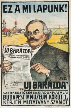 Retro Posters, Vintage Posters, Movie Posters, Budapest, Illustrations And Posters, Tarot, Graphic Design, Writing, Signs