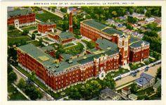 St. Elizabeth's Hospital (Lafayette, Indiana), circa 1930s