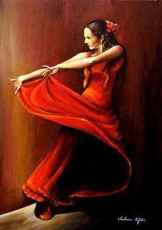 Spanish Dancer by Reiner Maria Rilke