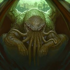 Cthulhu Tales - Cthulhu by ScottPurdy.deviantart.com on @DeviantArt Lovecraft Cthulhu, Hp Lovecraft, Gotik Tattoo, Call Of Cthulhu Rpg, Character Art, Character Design, Lovecraftian Horror, Eldritch Horror, Lord