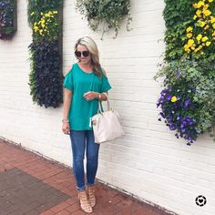 I wish this flower wall was at my house! 😉 So pretty 🌼 This simple cold shoulder tee is an easy go-to for Spring and Summer!! It comes in 7 colors and is only $39! 💚 Find the details 👉🏻 @liketoknow.it http://liketk.it/2qRko #liketkit #LTKUnder50 #LTKShoeCrush