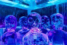 Alienígenas en el bar de hielo