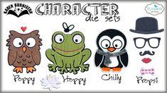 Pop it Ups Character Die Sets by Karen Burniston