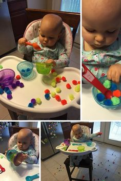 Pom Pom Color Sort and Cup Stacking
