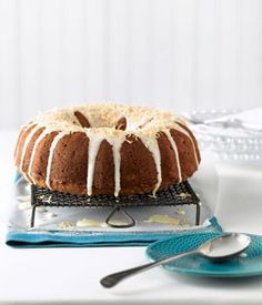 10 Thanksgiving Desserts    Carrot Cake with Drizzly Icing & Toasted Coconut « Canadian Family