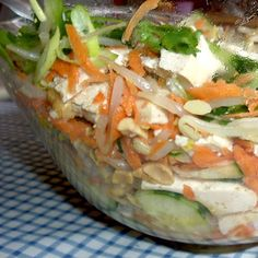 Shanghai Tofu And Peanut Salad Recipe - Food.com