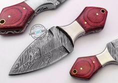 "6.00"" Custom Made Beautiful Damascus steel skinning Dagger knife (887-2)"