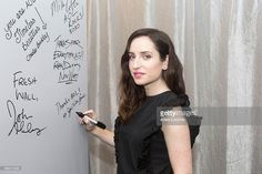 Zoe Lister-Jones attends at AOL Studios In New York on November 20, 2015 in New York City.