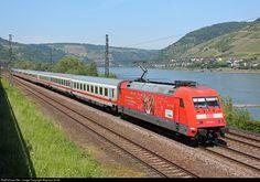 101094 DB AG DB 101 at Koblenz, Germany by Wayland Smith Db Ag, Ireland, Germany, Train, Adventure, Deutsch, Irish, Adventure Movies, Adventure Books