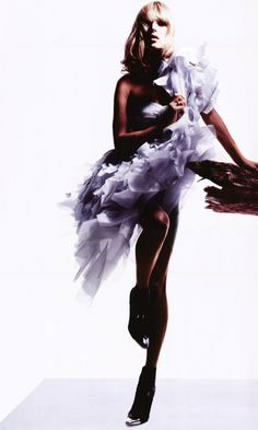Kate Moss by Nick Knight for V #52