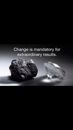 Quotes About Dimonds : Change is mandatory for extraordinary results - Buy Me Diamond Make Money Blogging, Make Money Online, How To Make Money, Money Tips, Great Quotes, Quotes To Live By, Inspirational Quotes, Motivational Quotes, Awesome Quotes