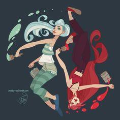 Character Design - Paint by MeoMai on DeviantArt Evvi Art, Character Design References, Character Drawing, Character Design Inspiration, Cartoon Art, Cute Art, Art Inspo, Pixel Art, Art Reference