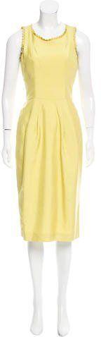 L'Wren Scott Silk Shantung Dress w/ Tags