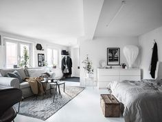 A tiny and dreamy studio apartment
