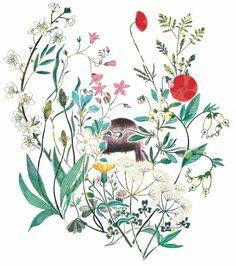 #mulpix Despido el año con esta belleza de @sonia_pulido_illustration Una ilustracion maravillosa en la que Sonia dibujó mi universo para #ellibrodelascasasbellas de @kireeimagazine y @montsemarmol, un regalazo alucinante y mágico. Feliz fin de año! 🌿 . . . #soniapulido #kireeimagazine