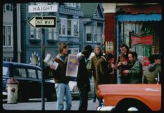 Haight Street Hippies In The Summer of Love - Flashbak Color Photography, Street Photography, Haight Ashbury, Hippie Movement, Library Programs, Working People, Walkabout, Book Projects, Summer Of Love