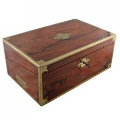Regency Rosewood Box Desk