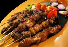 Resep Makanan Indonesia: RESEP DAN CARA MENGOLAH SATE KAMBING KHAS INDONESIA