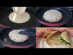 YOĞURMADAN AÇMADAN BALON GİBİ LAVAŞLAR HAZIRLAYIN 2 MALZEME İLE HAZIR - YouTube Bread Recipes, Lava, Tacos, Food And Drink, Waffle, Cooking, Breakfast, Ethnic Recipes, Brioche